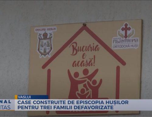 Case construite de Episcopia Hușilor pentru trei familii defavorizate – Video